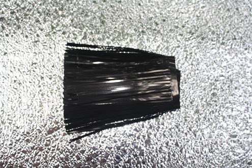 """Black Flat 4"""" Standard Cut"""
