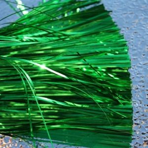 "Emerald Green Flat 4"" Standard Cut"