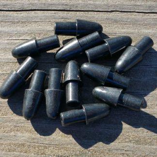 Black bullet heads