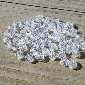 Clear beads