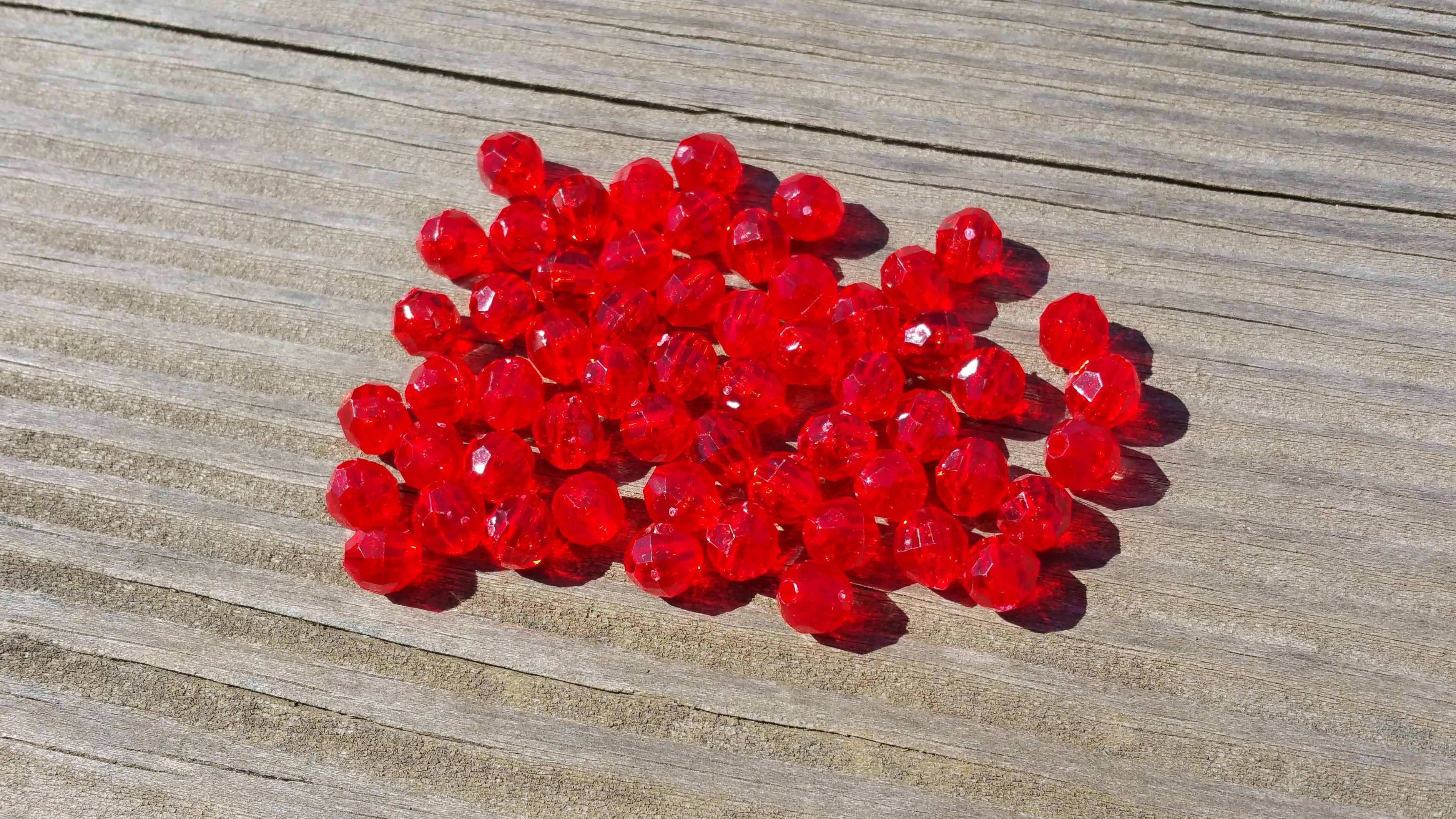 Red beads