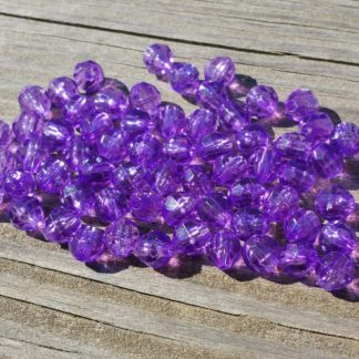 Light purple beads