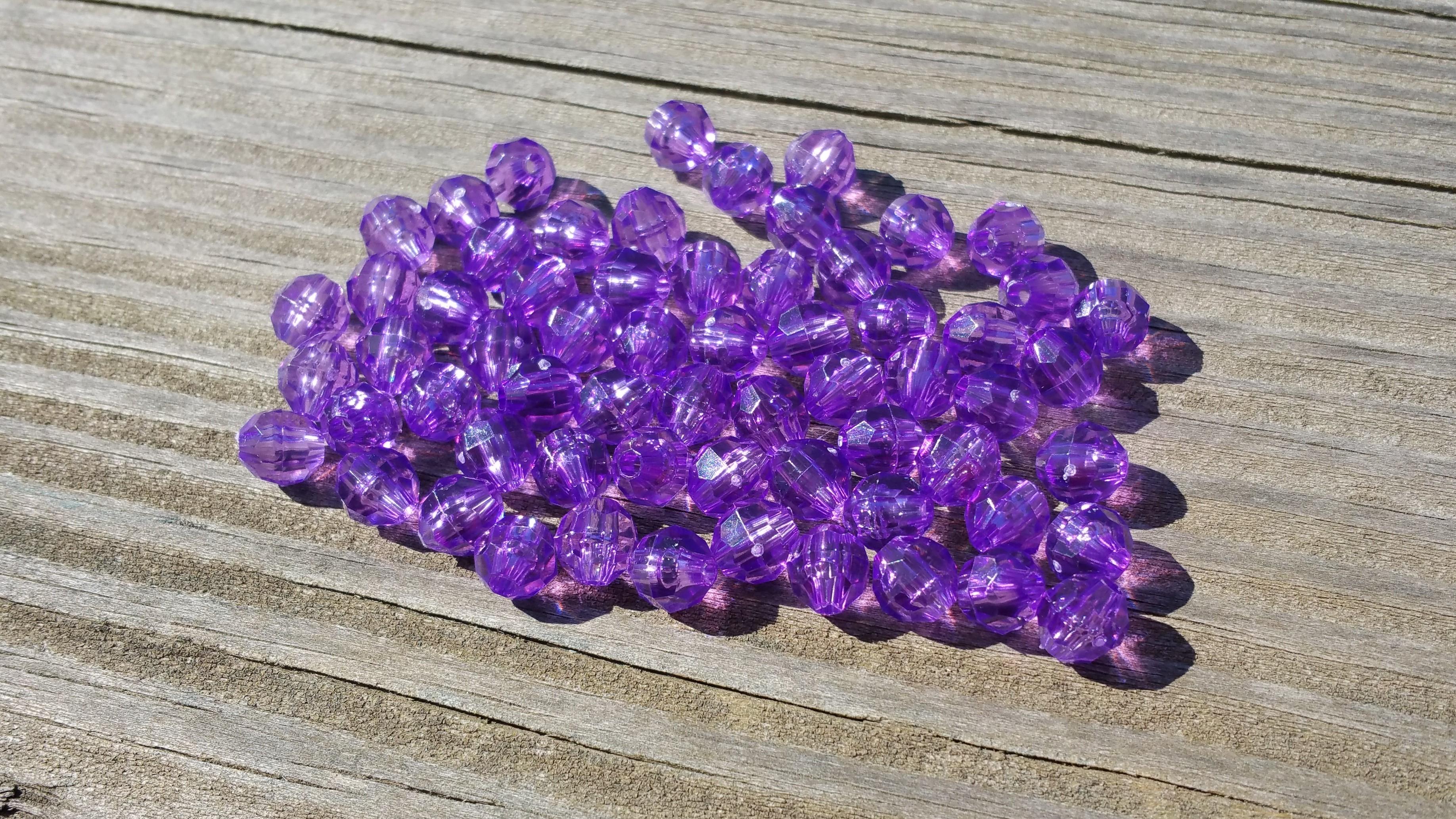 Light purple beads
