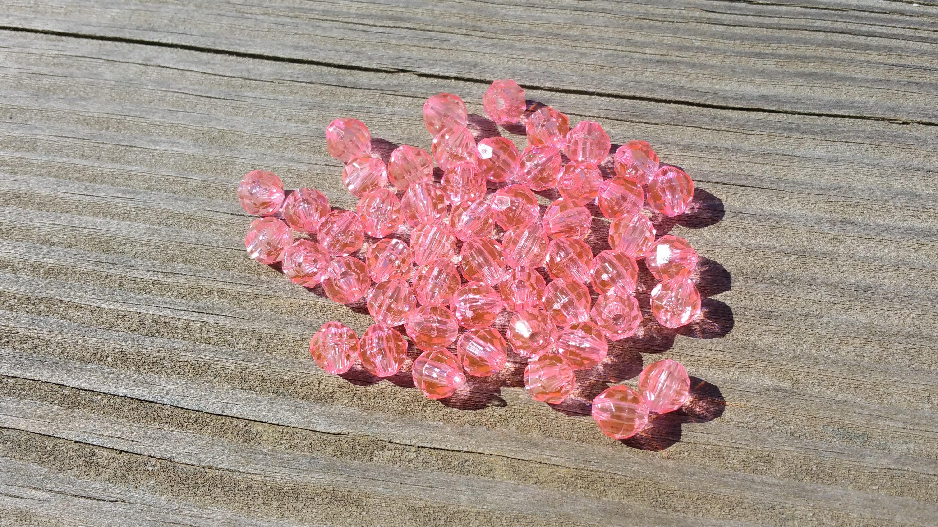 Light Pink beads