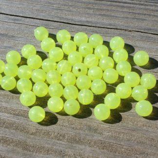 Yellow Glow Beads