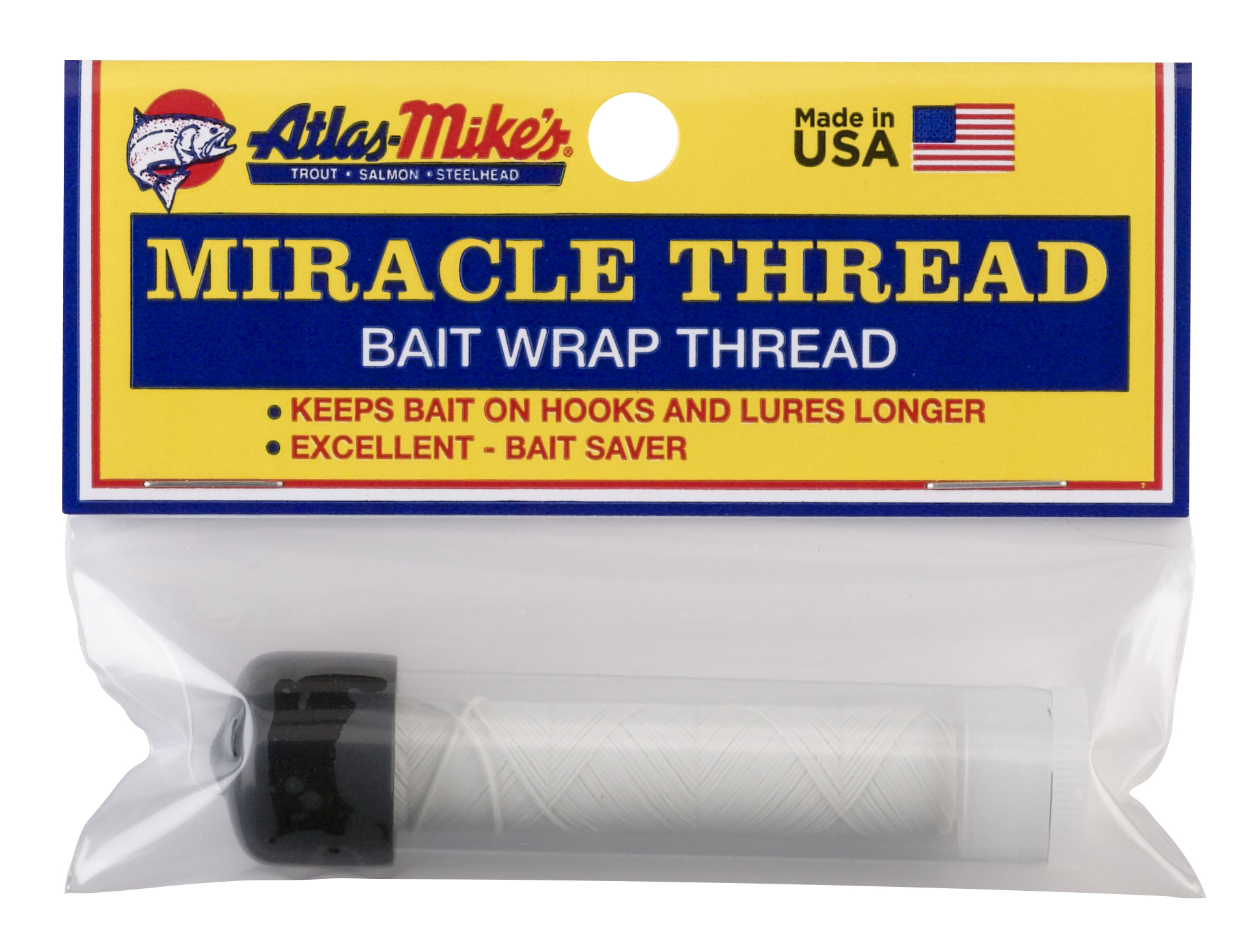 Atlas Miracle Thread with Dispenser - White